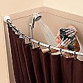 Tall Shower Curtain Splash Guard - Improvements Catalog
