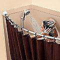 Tall Shower Curtain Splash Guard - Improvements Catalog