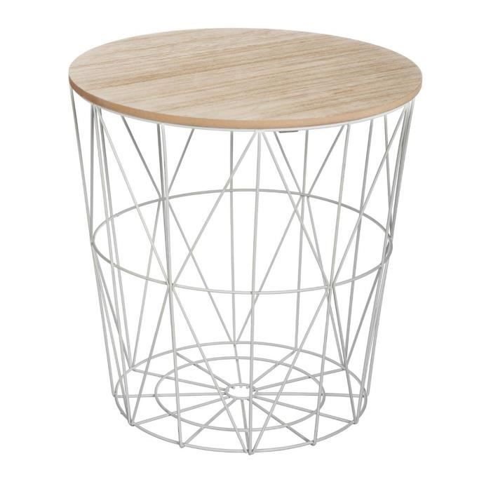 Table Basse Kumi Grise Table Basse Table Cafe Meuble