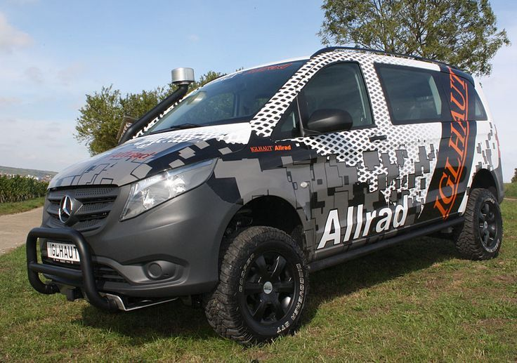 Awesome Mercedes: Mercedes Vito 4x4...  ideas for the vito Check more at http://24car.top/2017/2017/07/07/mercedes-mercedes-vito-4x4-ideas-for-the-vito/