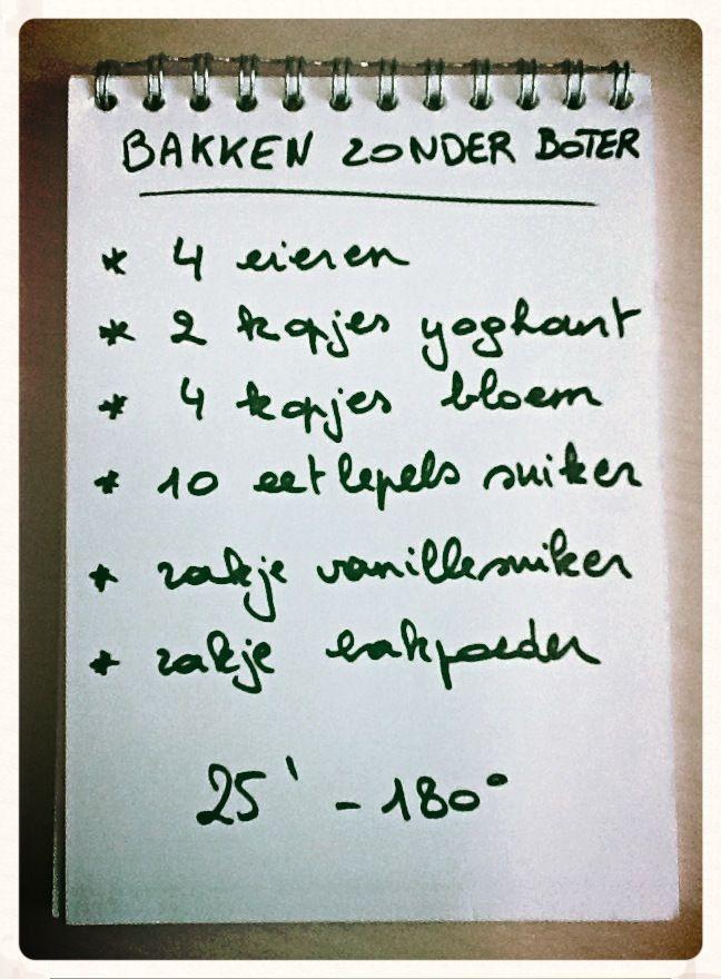 Cake bakken zonder boter - Baking cake without butter | Laloe.be