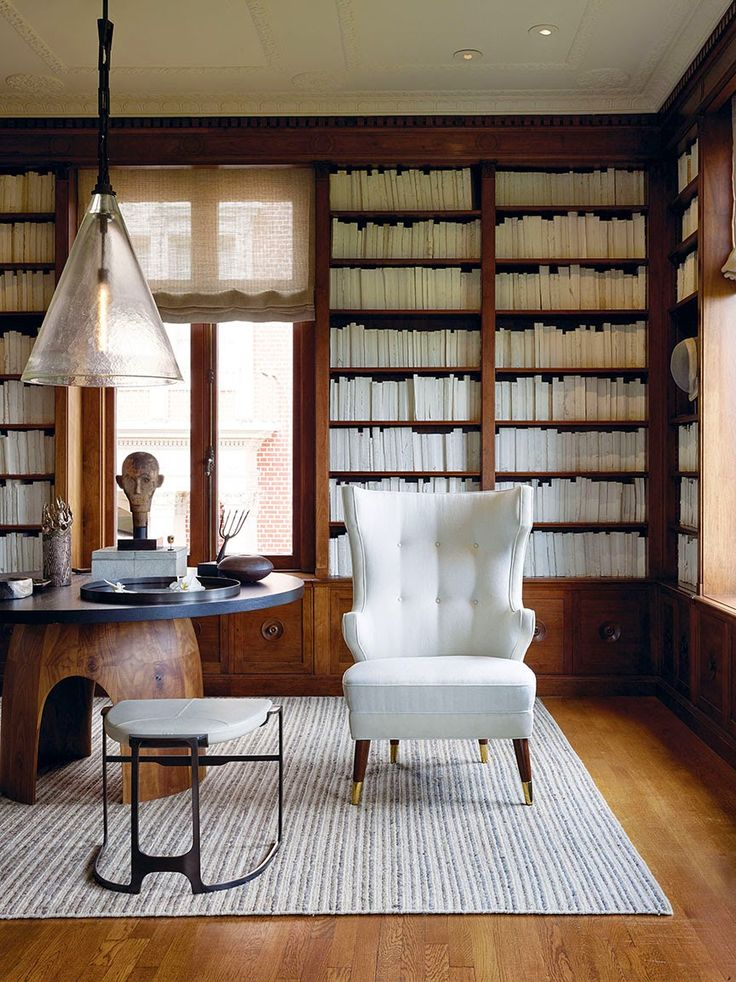 good interior design for home%0A Elegant Aesthetics Speak Volumes  A Beautiful  Classical Library with  Electronic Cool by San Francisco Designer  Geoffrey De Sousa