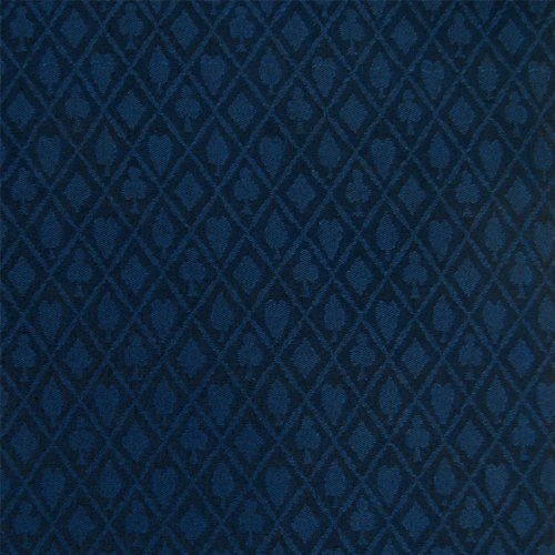 Trademark Stalwart Waterproof Poker Table Cloth (Midnight Blue) by Trademark Global. $31.74. Superb Waterproof Suited Poker Table ClothBeautiful Diamond Suited cloth the perfect size for your game room table.Build your table with the best cloth available. This cloth can be used for your custom tables. Superb waterproof coating applied to the underside of the cloth to preserve luminosity and playability for years of gaming.A complete 3 yards (9 feet) by 59 inches wide of cloth. ...