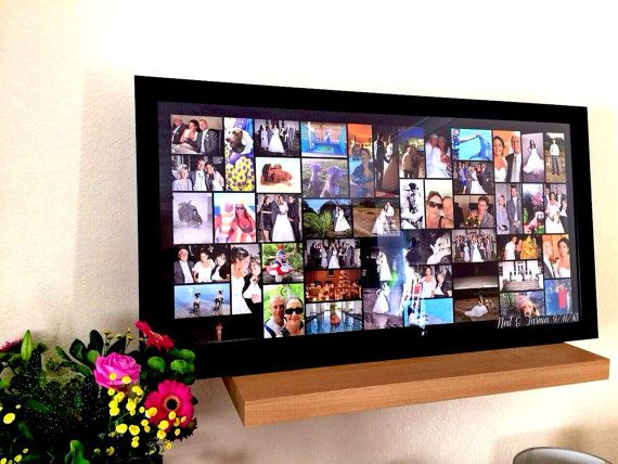 Personalised Picture Collage/ Wedding Collage/ Family Photo Collage/ Collage Frame/ Collage Art/ Up to 75 Inch Span