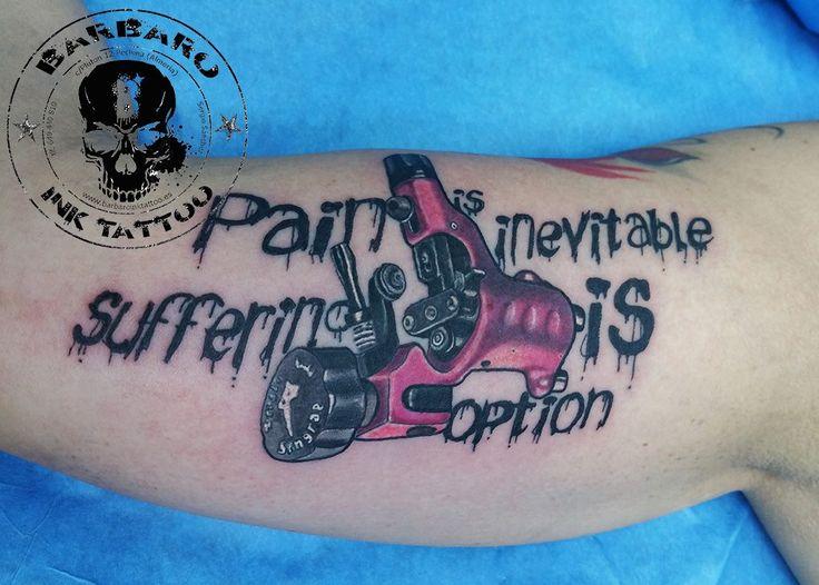 Dragon Fly Tattoo Machine, Stin Gray Tattoo Machine. Lettering with tattoo machine. Ink Machine.