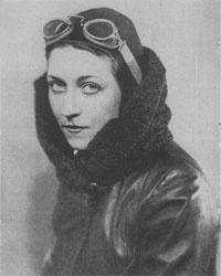 Vintage photograph - female explorer