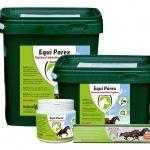 Equi Parex Pellets 15 kg  Equi Parex is het 100% natuurlijke reinigingsproduct en draagt bij aan een gezonde maag- en darmflora! Verhoogt de weerstand activeert het afweersysteem en zorgt voor een goede spijsvertering!  Aanvullend diervoeder voor paarden. Equi Parex is een speciaal ontwikkeld kruidensupplement om de darmflora en algemene gezondheid van paarden in optimale conditie te houden. Equi Parex is samengesteld uit specifieke kruiden en bevat o.a. Zeewier Melasse en Luzerne. 100%…