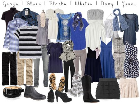 """When choosing your outfits for your photo session...everything should go together and blend in as to the out dated """"all matching"""" look...you want to reflect your style..."""
