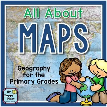 Maps Geography for the Primary Grades: PowerPoint Slideshow and Printables for Kindergarten and First GradeTeach your geography standards with these map skills activities that are sure to engage your students!Contents (Some activities require a map or globe for students to view.) All About Maps PowerPoint Slideshow (14 Slides)This slideshow is packed full of information about maps and globes.