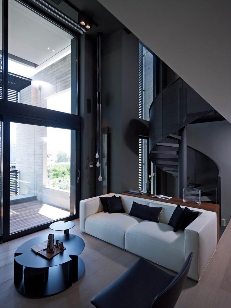 Die besten 25+ Urban loft Ideen auf Pinterest Loft-haus, Studio - interieur design moderner wohnung urbanen stil