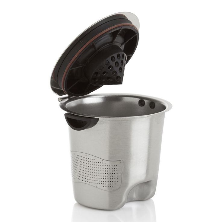 A reusable K-Cup that lets you refill over and over again with your own favorite ground coffee or loose leaf tea.