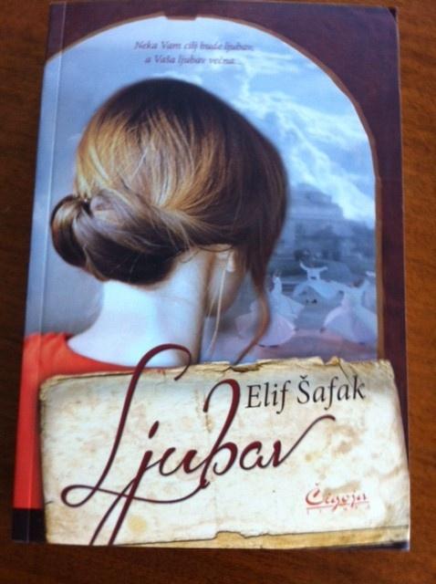 Aşk'ın Sırbistan baskısının kapağı... The bookjacket of the Serbian edition of Forty Rules of Love.