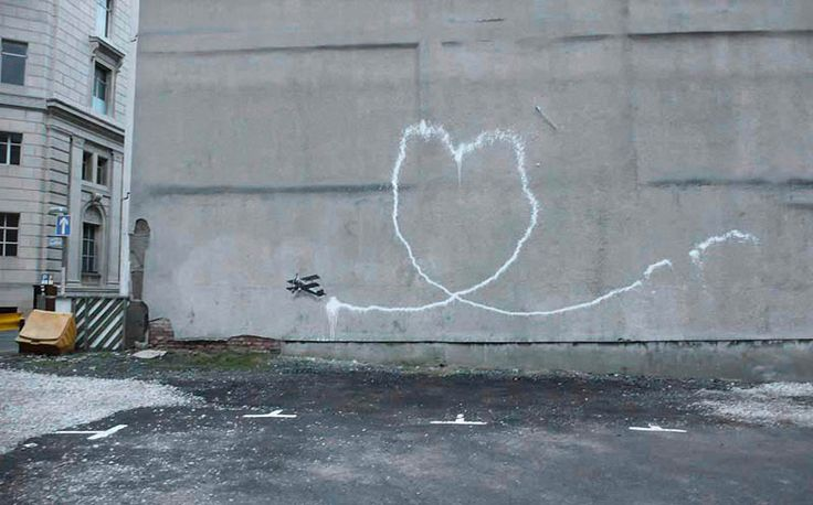 Banksy - Outside