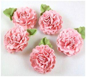 Бумажные цветы для скапбукинга своими руками. Мастер-класс.