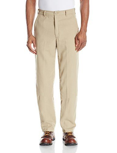 Bulwark Flame Resistant 5.8 oz CoolTouch Mens Work Pant with Button Closure Waist 44x30 Khaki