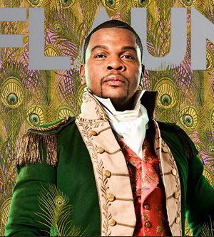 Kehinde Wiley Self portrait ... african american artist who does realistic portraits of african americans with cool back grounds ....