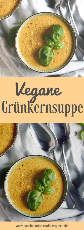 Vegane-Grünkernsuppe-mit-Kokosmilch---ein-einfaches-Grünkernrezept--Suppenrezepte