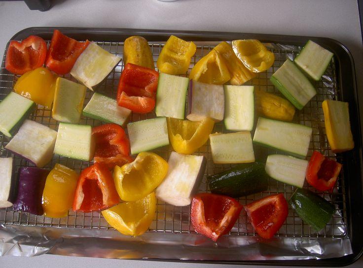 Veggies-ready to roast