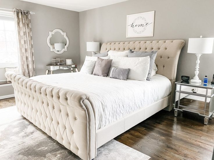 Master Bedroom Refresh With Raymour Flanigan Lifestyle House Of Leo Blog In 2020 Upholstered Bed Master Bedroom Bedroom Refresh Master Bedroom Set