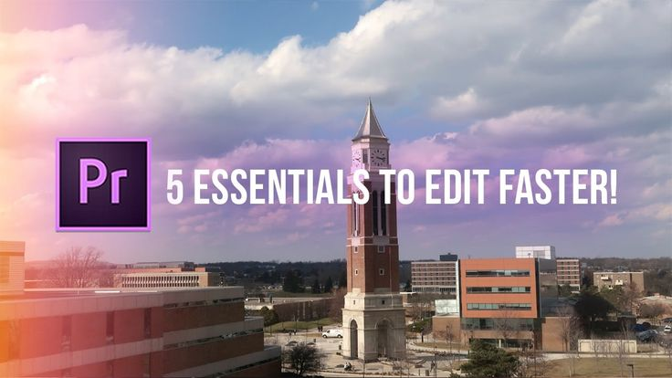 Adobe Video tutorial: 5 Essentials on How to Edit Faster in Adobe Premiere Pro CC (Workflows, Shortcuts, Tips & Tricks) => http://tutorials411.com/2017/03/05/5-essentials-edit-faster-adobe-premiere-pro-cc-workflows-shortcuts-tips-tricks/ #photoshop #adobe #tutorial