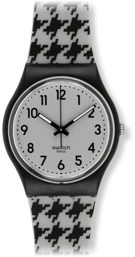 Swatch Fun Fabric Women's Plastic Case Black Plastic Watch GB272 Swatch. $57.00. Black Plastic Strap. Analog Display