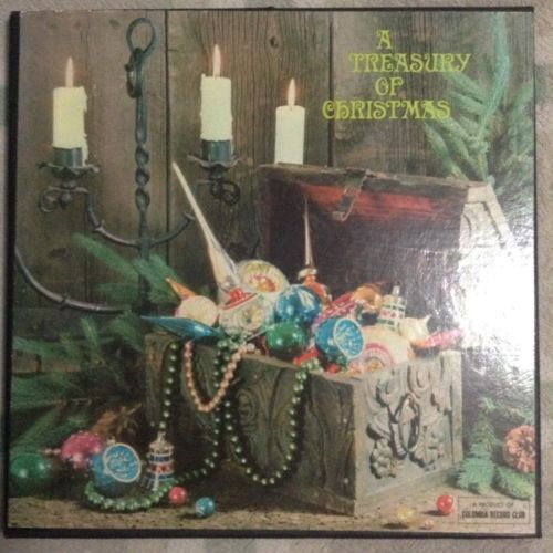 A-Treasury-Of-Christmas-Columbia-Records-4-LP-Boxed-Set-Classic-Holiday-Hits