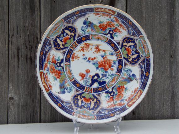 A beautiful large Imari Charger Plate around the early 20th century rare and just in magnificent condition.  Measures 31cm diameter and 5cm high.  It is not only Good to collect this is for connoisseurs.   Your purchase will be shipped within 1-3 business days, we use Royal Mail, register mail with a tracking number. Each item will be sent to the address of your Etsy account. Please make sure it is correct.  Thank you for visiting my shop, please note that this e unique item and very…