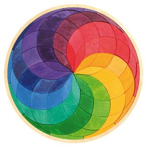 Een mooie en uitdagende puzzel met diverse mogelijkheden voor kinderen van ongeveer 5 jaar en ouder.