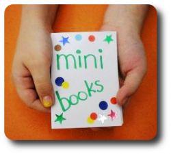 Minibook Gallery  Je kunt boekjes maken over een thema, met plaatjes, tekeningen en woorden.