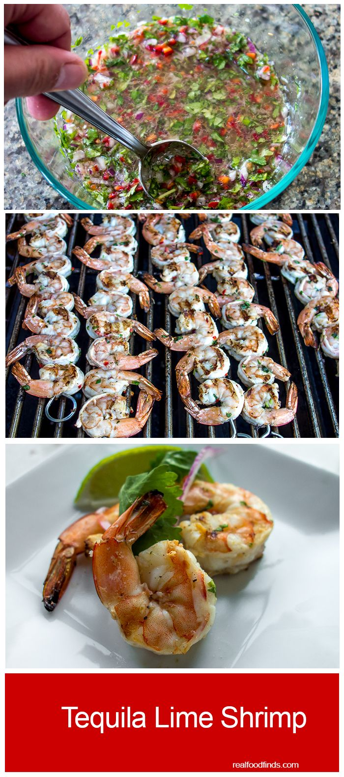 Tequila Lime Shrimp by Real Food Finds