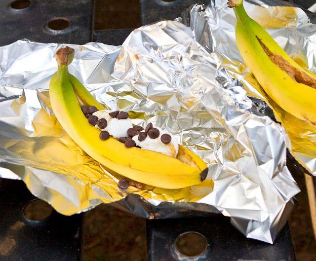 Camping Recipes: Banana Boats