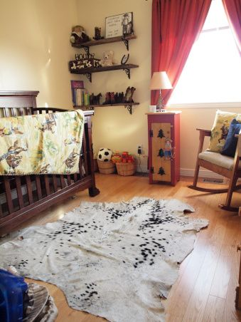 Vintage Cowboy Nursery, The theme of this nursery was vintage cowboy. I wanted it to look rustic and classic without the cartoon character f...
