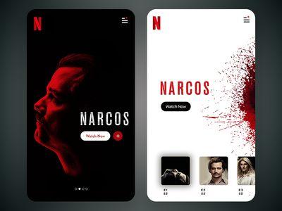 Netflix App Screen