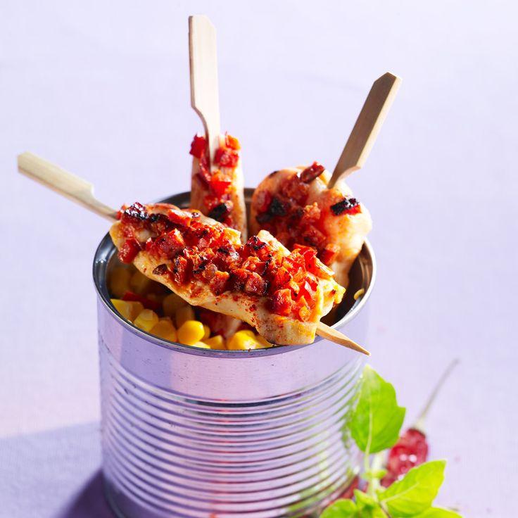 Aiguillettes de poulet à la catalane - Recettes   Recette ...