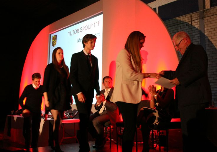 FHS students receive their GCSE certificates from His Honour Judge John Morgan