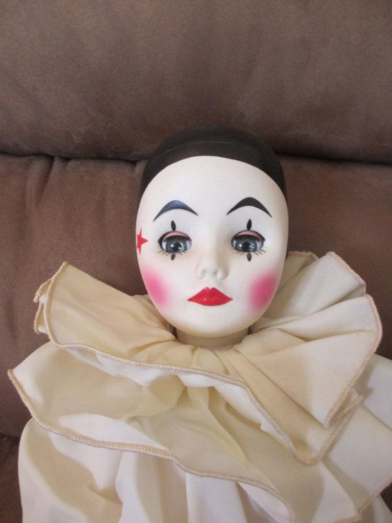 Effanbee clown pierrot...