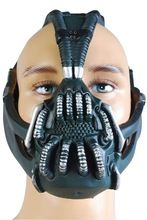 Batman The Dark Knight Rises Bane Dorrance Latex Mask Cosplay for party Halloween Carnival(China)