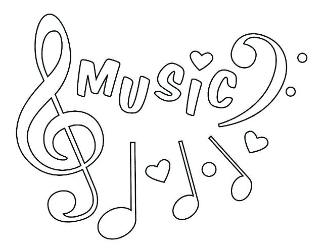 206 Best Coloring Music Images On Pinterest