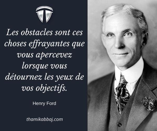 Les obstacles sont ces choses effrayantes que vous apercevez lorsque vous détournez les yeux de vos objectifs. -Henry Ford  Pour aller plus loin : https://fr.tkltradingschool.com/guide-gratuit-tkllfa-libertefinanciere-fb  #tkl #tkllfa #thamikabbaj