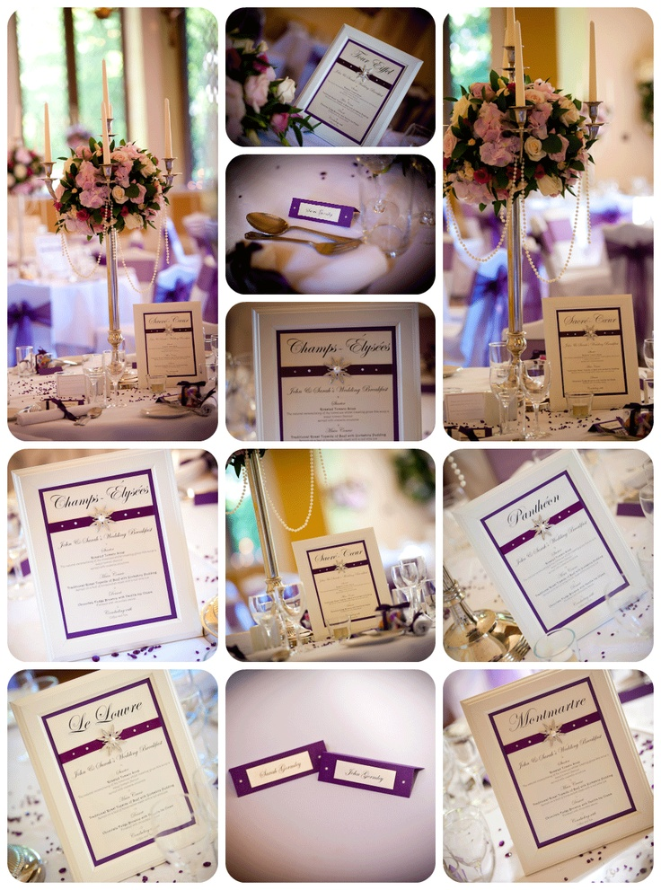 Purple wedding - White Crafts - taken at Clearwell Castle