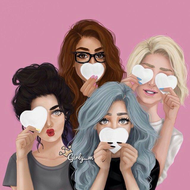 chicas hipster dibujo - Buscar con Google