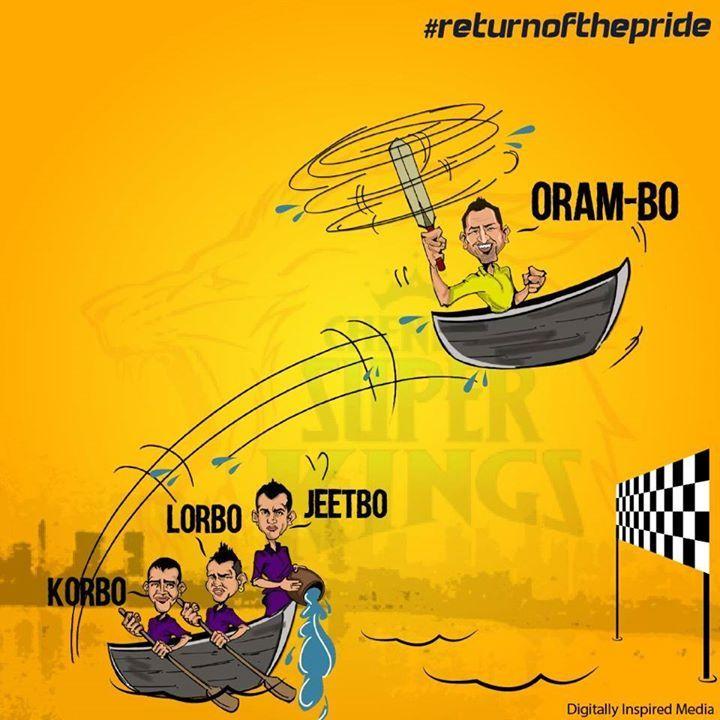 IPL Campaign- #whistlepodu #returnofthepride #csk #kkr #battleofeden