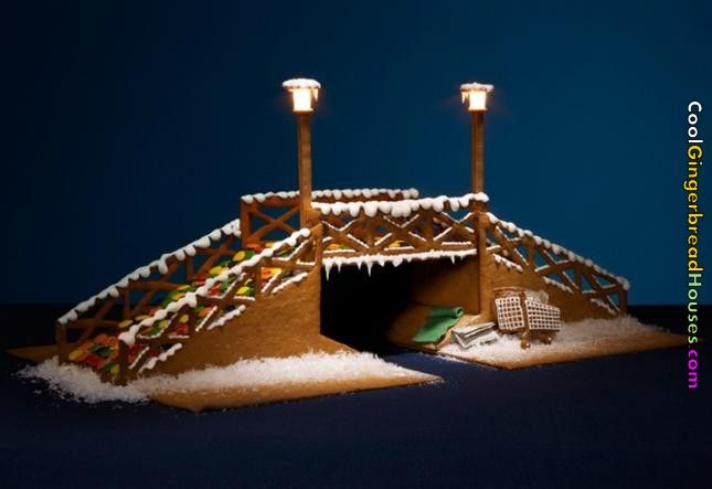 gingerbread bridge