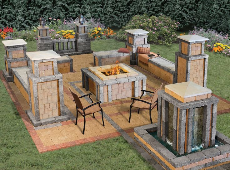 Add A Tranquil Ambiance To Your Patio With The Stockton Fire Pit. Inspired  By The