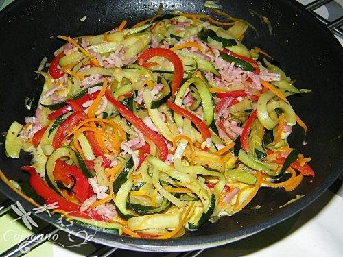 Spaghetti de legumes