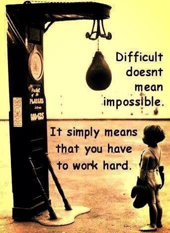 ~Dream Big/Work Hard~