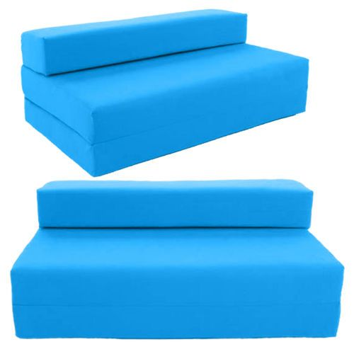 Block Filled Fold Up Sofa Bed Z Guest Foam Futon Mattress