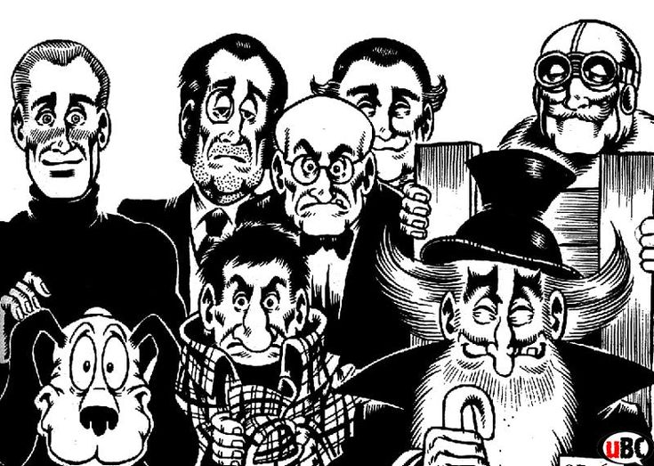 TNT Alan Ford by Magnus & Bunker - one of the most important European comic series - top social satire.