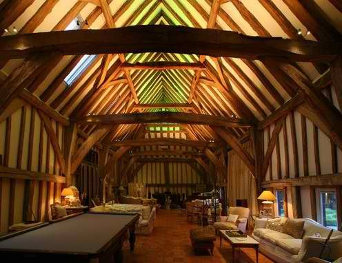 Inside of a converted barn beautiful barns pinterest for Luxury barn homes