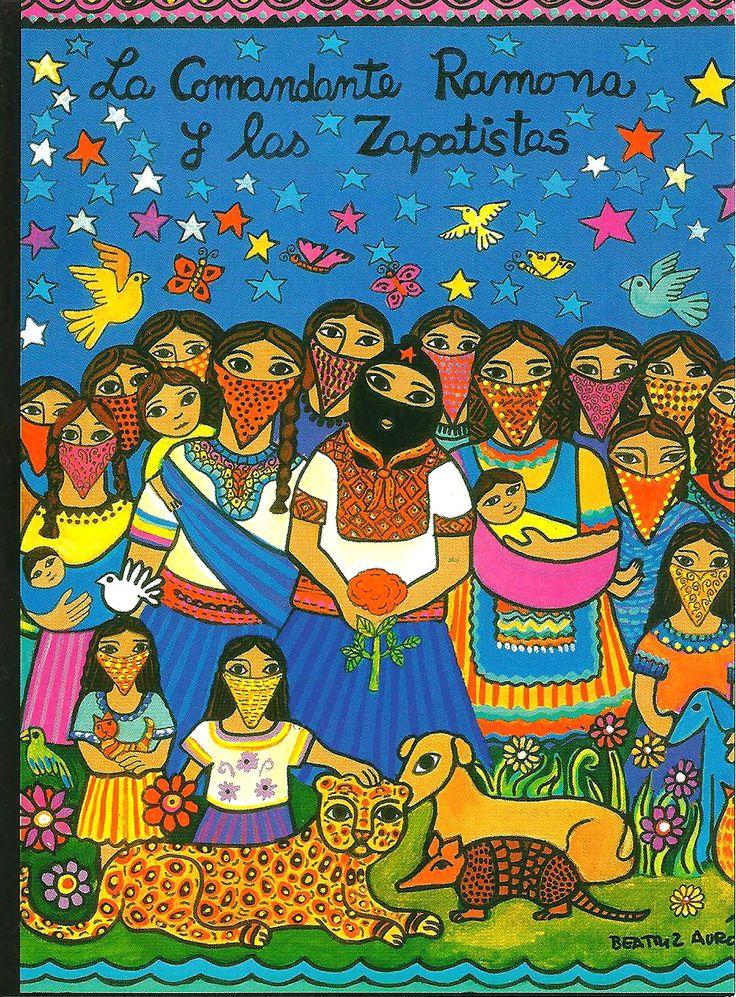 La Comandanta Ramona y los Zapatistas by Beatriz Aurora